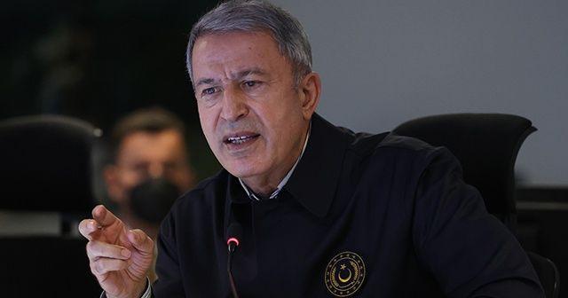 Bakan Akar: 7 PKK'lı terörist daha etkisiz hale getirildi