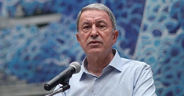 Bakan Akar: Tüm komşularımızın sınırlarına ve egemenliğine saygılıyız