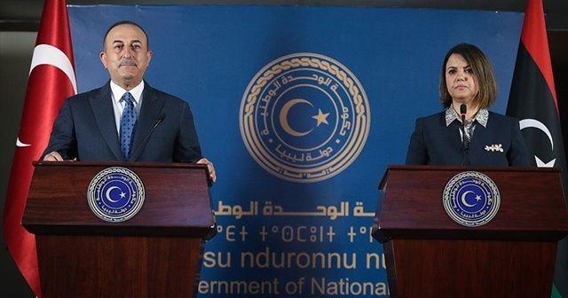 Bakan Çavuşoğlu'dan Libya mesajı