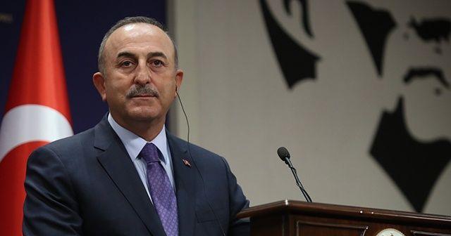 Bakan Çavuşoğlu'ndan İsrail'e tepki