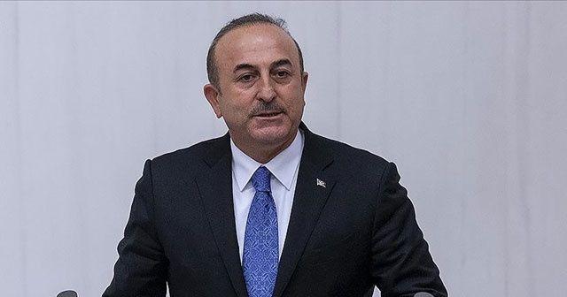 Bakan Çavuşoğlu: Türkiye'de Filistin konusunda ortak dayanışma var
