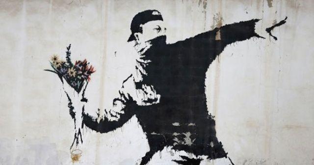 Banksy'nin eserine kripto paralı müzayede