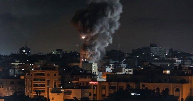 Bir Gazzeliye yarım kilo bomba düştü