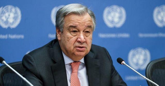 BM Genel Sekreteri: Gerginliğin azaltılması yönündeki adımları destekliyoruz