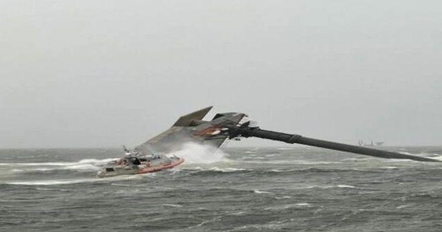 California açıklarında gemi alabora oldu