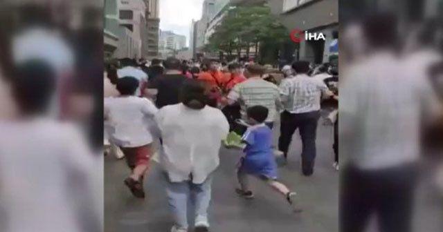 Çin'de gökdelen sallandı
