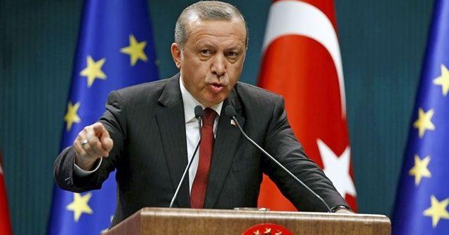 Cumhurbaşkanı Erdoğan'dan Avrupa Birliği mesajı