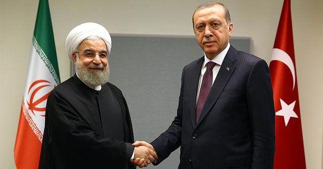 Cumhurbaşkanı Erdoğan ile Ruhani arasında kritik görüşme