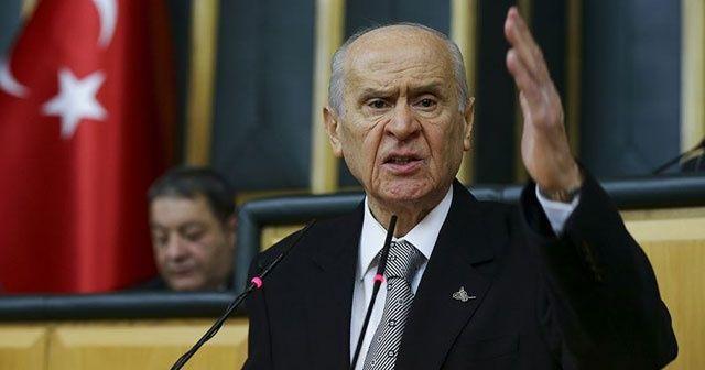 MHP lideri Devlet Bahçeli seçim tarihini işaret etti