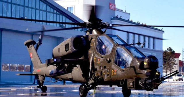 Emniyet'e üçüncü T129 Atak Helikopteri