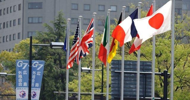 G7 ülkeleri Rusya'ya karşı bildiri yayınladı