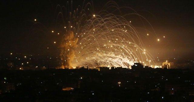 Gazze'de şehit sayısı 212'ye yükseldi