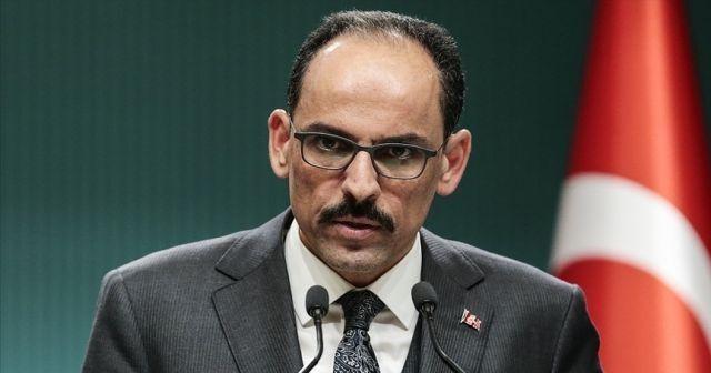 İbrahim Kalın ABD Ulusal Güvenlik Danışmanı ile telefonda görüştü