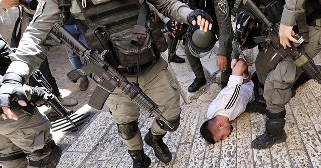 İşgalci İsrail güçleri Filistinlilere saldırdı