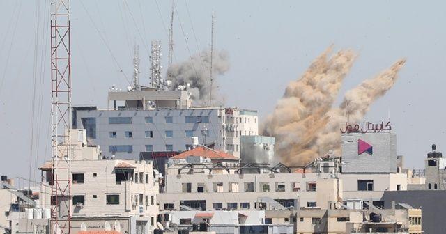 İsrail gazetecilere 10 dakika bile izin vermedi