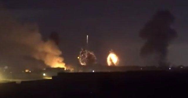 İsrail Gazze'ye böyle saldırdı