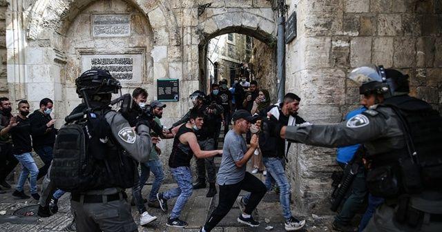 İsrail güçlerinin Mescid-i Aksa'ya müdahalesinde yaralananların sayısı 331'e yükseldi