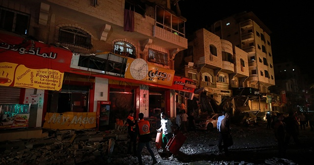 İsrail'in Gazze'ye saldırılarında şehit sayısı yükseliyor