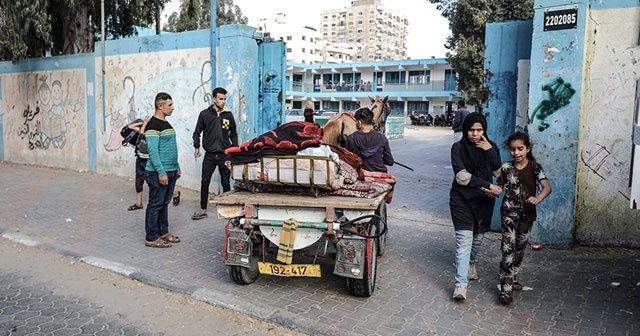 İsrail'in Gazze'ye saldırıları sonucu 52 bin kişi yerinden edildi