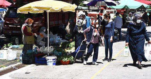 İstanbul'da pazar yerleri açıldı