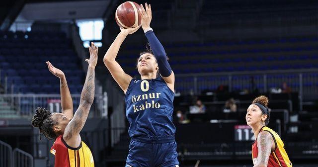 Kadınlar basketbolunda şampiyon Fenerbahçe