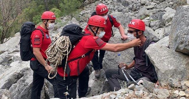Kayıp İtalyan turist kurtarıldı