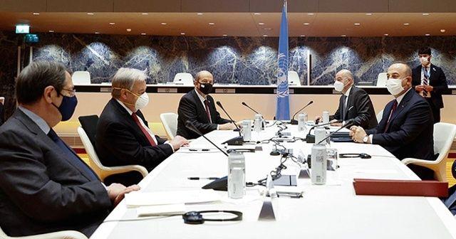 Kıbrıs konferansına Tatar'ın 6 maddelik önerisi damga vurdu