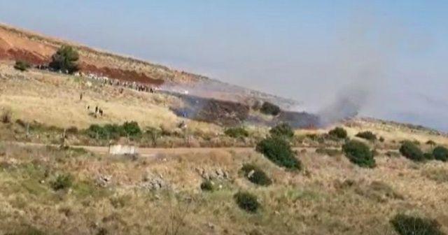 Lübnanlı protestoculara İsrail sınırında ateş açıldı