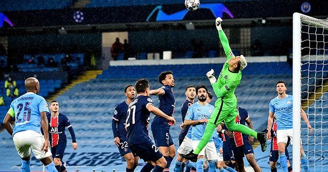 Manchester City, PSG'yi yenerek finale yükseldi