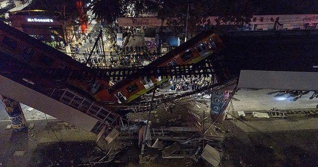 Meksika'da metro faciası: Çok sayıda ölü ve yaralı var