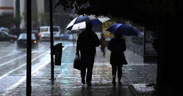 Meteoroloji'den İstanbul için son dakika uyarısı: Kuvvetli yağış geliyor