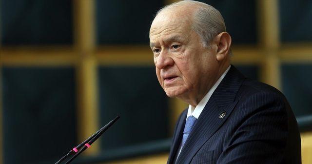 MHP Lideri Bahçeli: Türkçü kahramanları rahmetle ve şükranla yad ediyorum