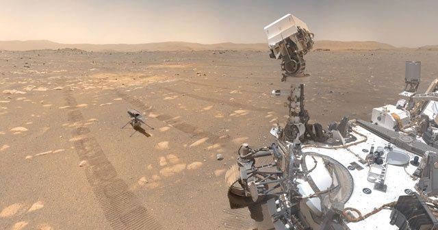 NASA mikropları Mars'a taşıdı