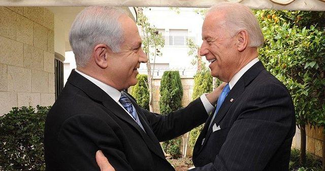 """Netanyahu'dan Biden'a """"kayıtsız destek"""" teşekkürü"""