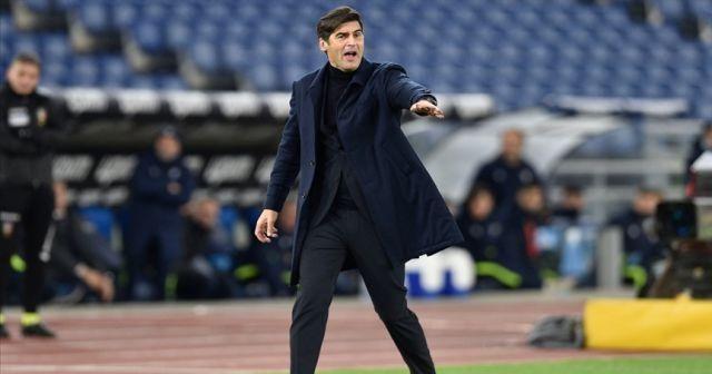 Roma, teknik direktör Paulo Fonseca ile devam etmeyecek