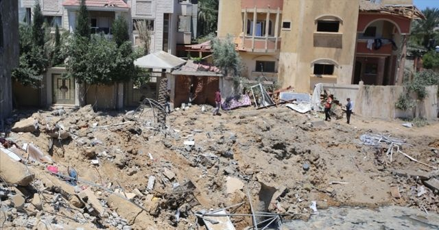 Son Dakika...Filistin'den BMGk'ya İsrail'e yaptırım çağrısı