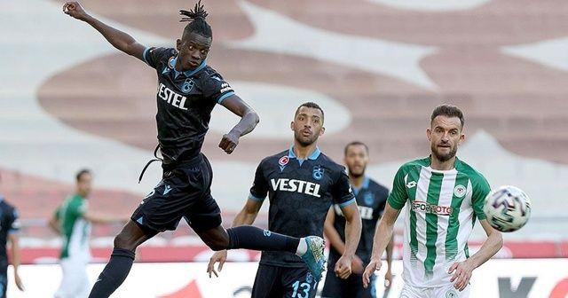 Trabzonspor deplasmandan 1 puanla dönüyor