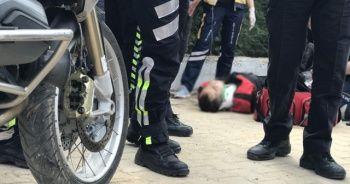 17 yaşındaki ehliyetsiz sürücü dehşet saçtı: 2 polis memuru yaralandı