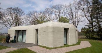 3D baskıyla yaşanabilir ev yaptılar