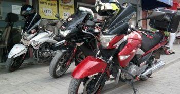 65 bin TL'lik motosikletle kuryelik
