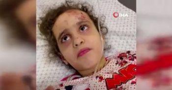 6 yaşındaki Filistinli kız enkazdan çıkarıldı