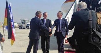 Almanya Dışişleri Bakanı Maas ateşkes için İsrail'de