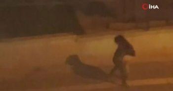 Ankara'da kadına şiddet: Sokak ortasında dövdü