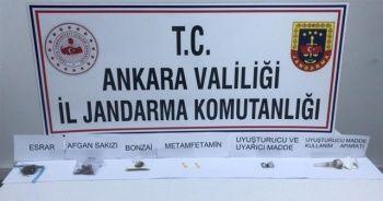 Ankara'da narkotik operasyonu: 11 gözaltı
