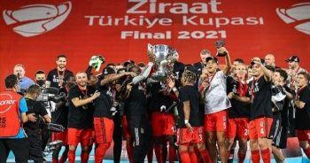 Beşiktaş Türkiye Kupası'nı kazandı