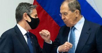Blinken ile Lavrov ilk kez bir araya geldi