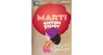 Çehov'un 'Martı'sı Okuma Tiyatrosu'nda