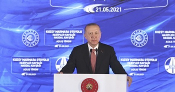 Cumhurbaşkanı Erdoğan açılışını yaptı! Kuzey Marmara tamam sıra Kanal İstanbul'da