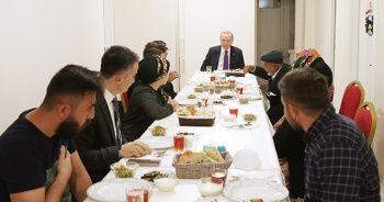 Cumhurbaşkanı Erdoğan, çiftçi aile ile iftar yaptı