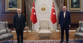 Cumhurbaşkanı Erdoğan, Devlet Bahçeli ile görüştü